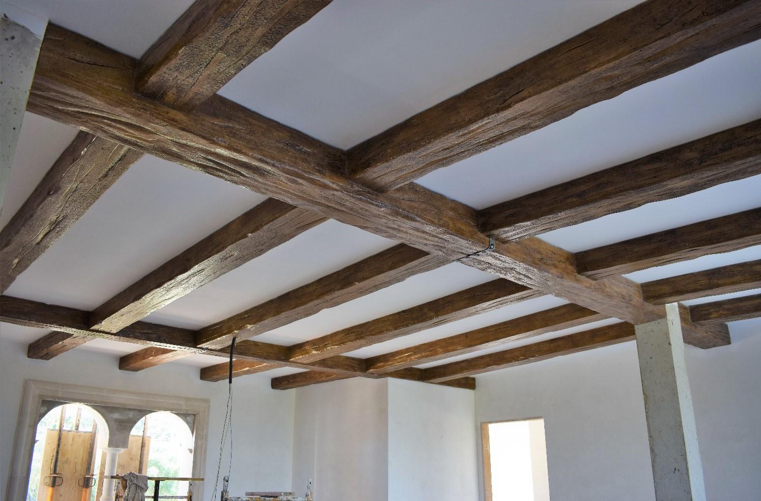 Construir una casa paso a paso construir con jorge - Vigas decorativas ...