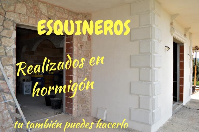 COMO HACER LOS ESQUINEROS DE LA FACHADA