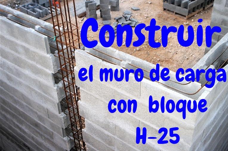Construir un muro de carga